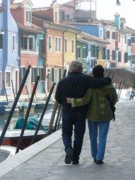 Strolling in Burano