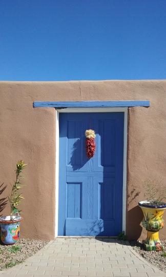 Mesilla front door