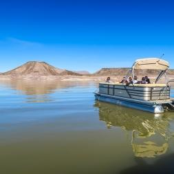 boat tour at EBLAR